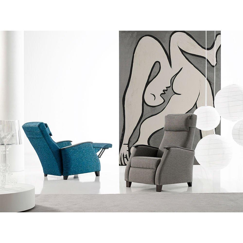 Recliner armchair milano tapicer as navarro - Tapicerias navarro ...