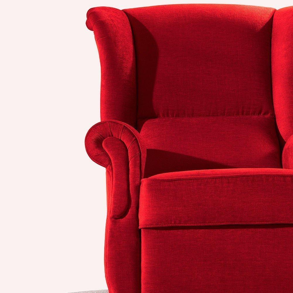 Wing armchair zamora tapicer as navarro - Tapicerias navarro ...