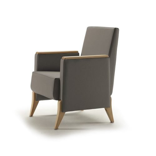 lobby armchair iris 500x500 - IRIS