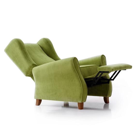 Sill n orejero berlin tapicer as navarro - Sillon individual relax ...