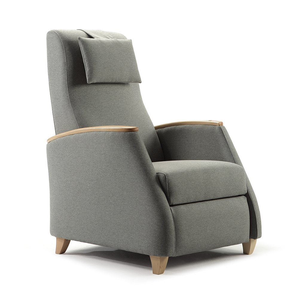 Recliner armchair kabul tapicer as navarro for Designer armchairs
