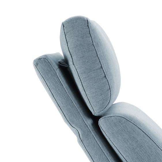 Olympia swivel armchair