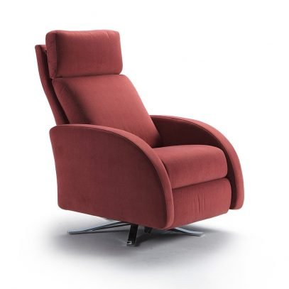 Olympia swivel armchair