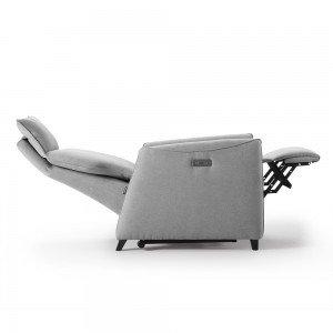 Reclining motor armchair