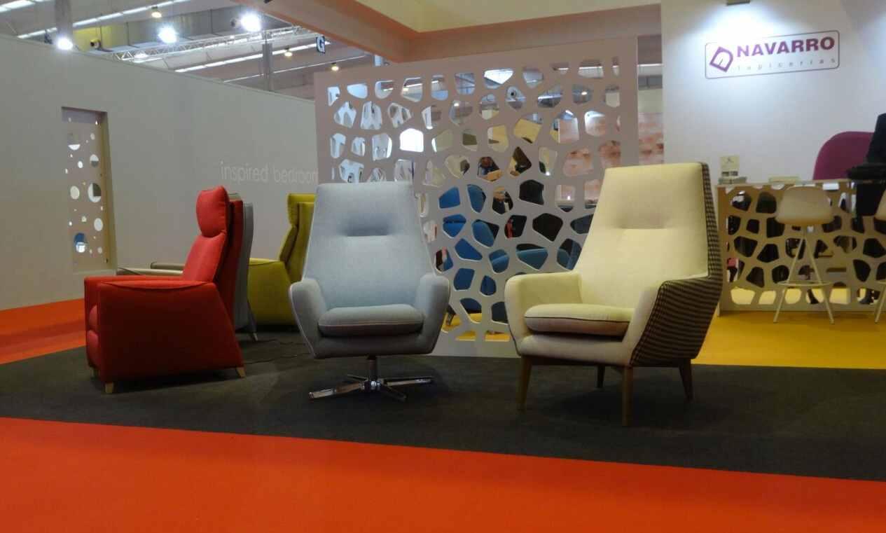 Feria del mueble de zaragoza 2016 tapicer as navarro - Butaca giratoria ...