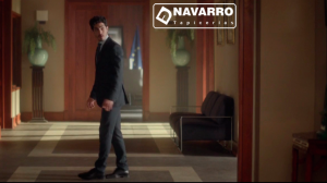 Sillón Lobby de Tapicerías Navarro en el hall de La Embajada