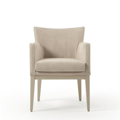 Lima armchair frontal