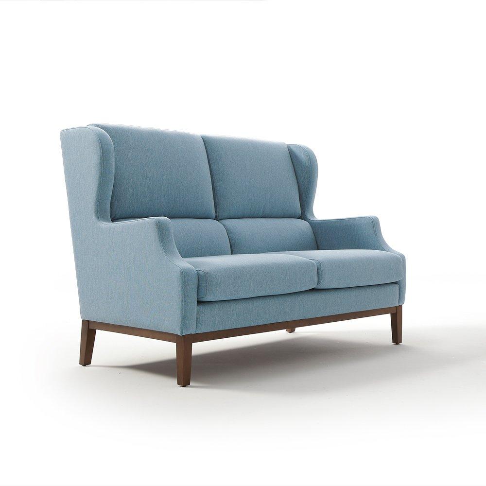 Sof fijo orejero liverpool tapicer as navarro for Fotos de sofas modernos