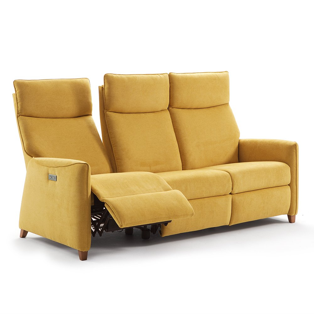 Sof reclinable modular motor tribeca tapicer as for Sofas gran confort