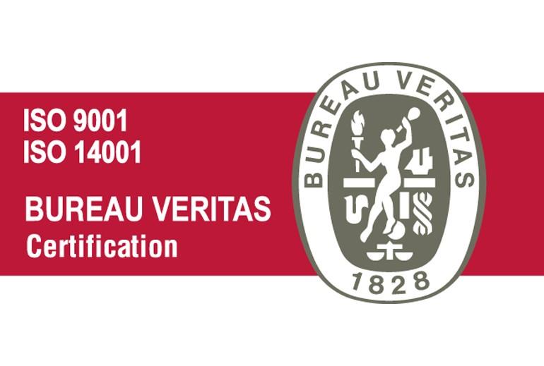 Certificado ISO 9001 - 14001