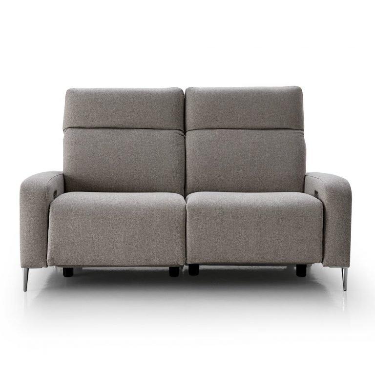 Sofá relax, eléctrico con chaise logue - Tapicerías Navarro