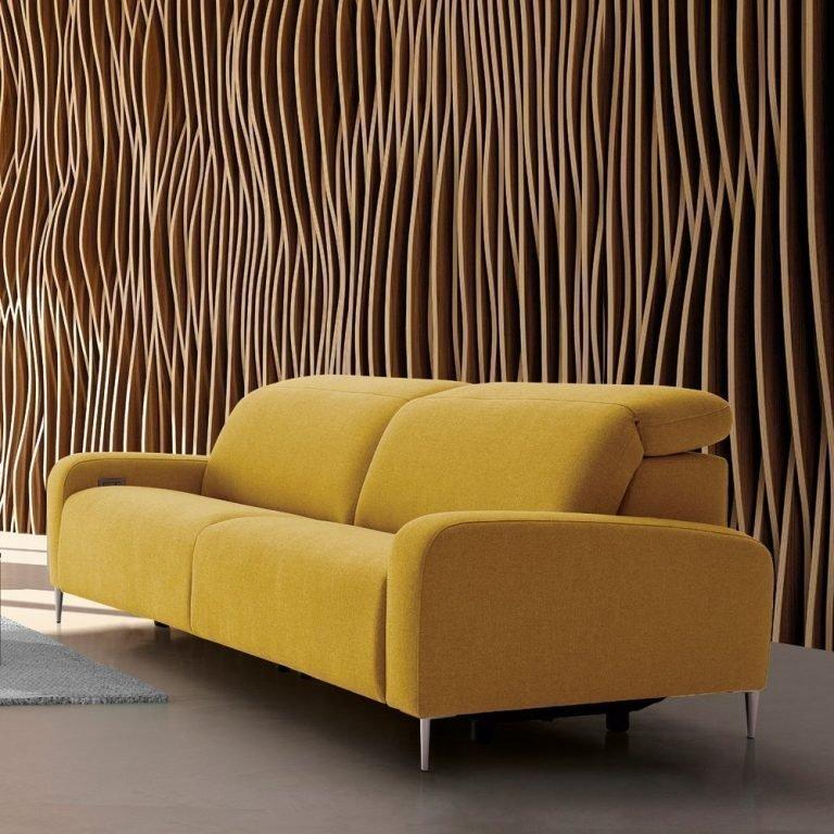 Sofá de diseño y estilo minimalista - Tapicerías Navarro