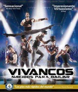 Cartel gira Nacidos para Bailar de Los Vivancos