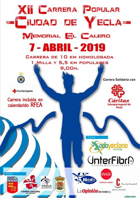 Cartel Carrera Popular El Calero