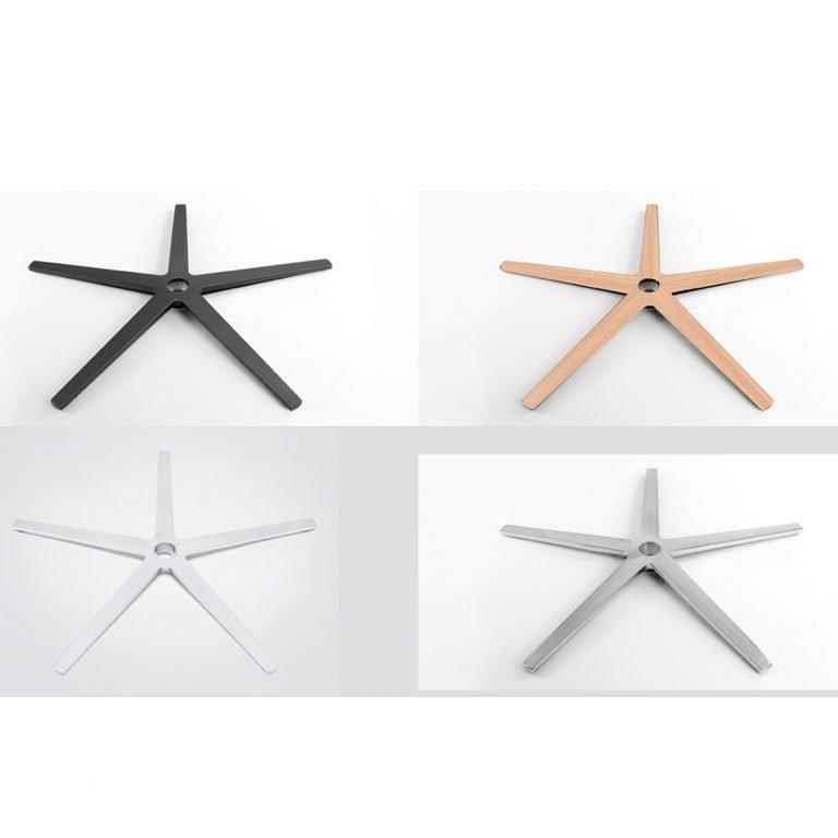 Opciones bases aspas para sillón Cronos o Fenix